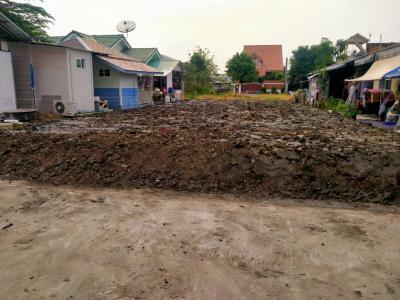For SaleLandBangna, Lasalle, Bearing : Land for sale Soi Ramkhamhaeng 2, Intersection 7