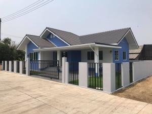 For SaleHouseChiang Mai, Chiang Rai : Single house, 3 bedrooms, 2 bathrooms, price 1.99 million baht.
