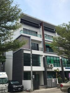 For RentShophouseBangna, Lasalle, Bearing : NA-B4003 4-storey home office for rent.