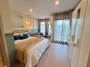 "For RentCondoRatchadapisek, Huaikwang, Suttisan : ‼ ️ Rare 🔥 for rent ""Aspire Asoke - Ratchada"" Urgent !! Very beautiful. 🔥 Good price, ready to move in, contact line id: @arunestate"