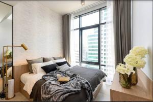 """For RentCondoSukhumvit, Asoke, Thonglor : ‼ ️ Rare 🔥 for rent """"The Loft Asoke"""" Urgent !! Beautifully decorated 🔥 good price (negotiable) ready to move in, contact line id: @arunestate"""
