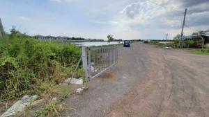 For SaleLandRama 2, Bang Khun Thian : Land for sale, Thian Talay, 28 22 Rai, 64.7 sq m