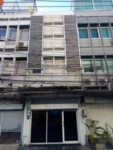 For RentTownhouseSukhumvit, Asoke, Thonglor : RPJ169 3-storey commercial building for rent, Sukhumvit 51, near BTS Thonglor.