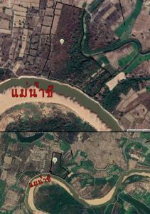 ขายที่ดินอุบลราชธานี : ขายที่ติดริมแม่น้ำชี วิวสวยเหมือนมีชายหาดสวยดังทะเล 71 ไร่ 2 งาน 36 วา มีโฉนด ไร่ละ 90,000 บาท