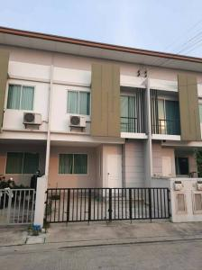 For SaleTownhouseLadkrabang, Suwannaphum Airport : 6954 Townhome for sale Nirvana Cover On Nut 65 with 4 bedrooms.