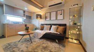 For SaleCondoLadprao101, The Mall Bang Kapi : Condo for sale: Freeland 2, Building B, Ladprao 93, Duplex Condo, 2 bedrooms, 2 bathrooms (new room, new hand)