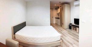 For RentCondoRama5, Ratchapruek, Bangkruai : Condo for rent, Sammakorn S9, Bang Rak Yai BTS station There are new furniture, electrical appliances.