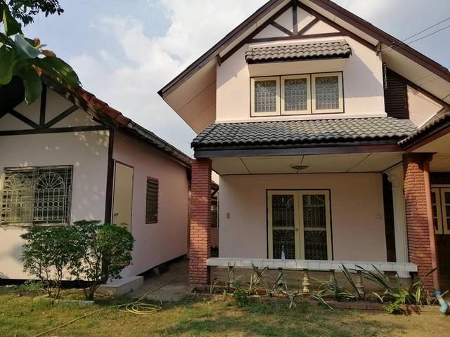 For SaleHouseLadprao 48, Chokchai 4, Ladprao 71 : 2 storey detached house for sale, area 69 sq m., Ladprao 71 area Lert Ubon Village, Soi Nakniwat 48
