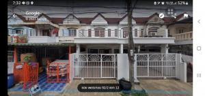 For SaleTownhouseBang kae, Phetkasem : Twin house for sale, Suksan Village 2, Petchkasem 92/2, 71 square meters, all expenses included.