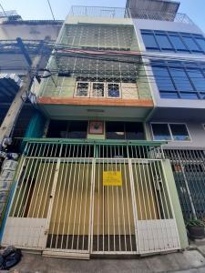 ขายตึกแถว อาคารพาณิชย์พระราม 3 สาธุประดิษฐ์ : ขายพร้อมผู้เช่า อาคารพาณิชย์ 5ชั้น ซอยสาธุประดิษฐ์ 56 พร้อมอยู่ สภาพดี