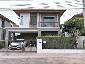 For RentHousePattanakan, Srinakarin : (For rent) ** Single house in Soi Pattanakarn 38, Pruksa Ville 73 Pattanakarn 38 project **