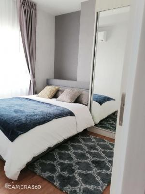 For RentCondoSamrong, Samut Prakan : (For rent) Condo Notting Hill Praksa (28th floor) size 35.5 sq m.