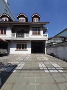 For RentHouseRamkhamhaeng, Hua Mak : OHM080 2 storey detached house for rent, beautiful decoration, Suan Luang, Soi Rama IX 51, near The NINE Rama IX.