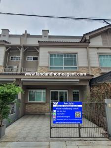 For SaleTownhouseBangna, Lasalle, Bearing : Sell Townhome Indy 3 Bangna KM.7, 3 bedoom fully furnished, Next to Mega Bangna