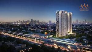 For SaleCondoSamrong, Samut Prakan : Ideo condo nearby bts , cheap price, free furniture Ready to move in