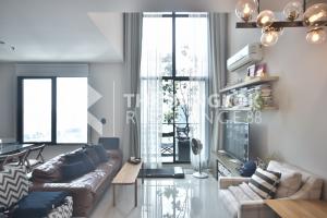 For SaleCondoRama9, RCA, Petchaburi : Quick sale @ Villa Asoke Type 1 Bed 2 Baths Duplex Size 81 Sqm, price only 9,500,000 baht.