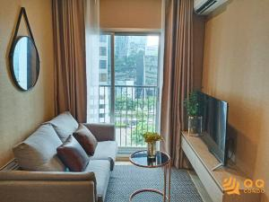 For RentCondoRatchadapisek, Huaikwang, Suttisan : For Rent Noble Revolve Ratchada 2  1Bed , size 26 sq.m., Beautiful room, fully furnished.