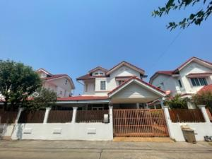 For SaleHouseLadprao 48, Chokchai 4, Ladprao 71 : ✅ 2 storey detached house for sale, Soi Nakniwas 37 intersection 1-8, size 57.90 sq m.
