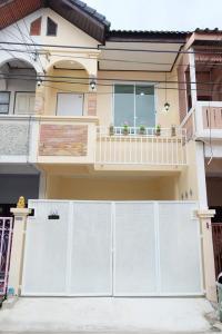 For SaleTownhouseNawamin, Ramindra : ✅ Selling 2-storey townhome, Jinda Town Village, Soi Khubon 27 Intersection 56, size 16 sq m