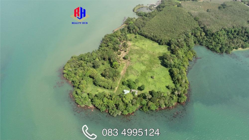 ขายที่ดินตราด : ขายที่ดินบนเกาะส่วนตัวปลายแหลม 37 ไร่ ทะเลรอบด้าน สวยที่สุดในเมืองไทย
