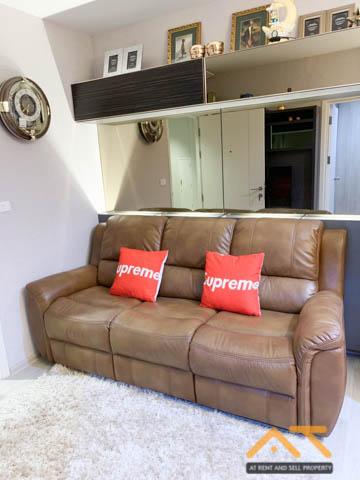 For SaleCondoRama9, RCA, Petchaburi : For Sale Plum Condo Ramkhamhaeng Station  1Bed , size 27 sq.m.Beautiful room, fully furnished.