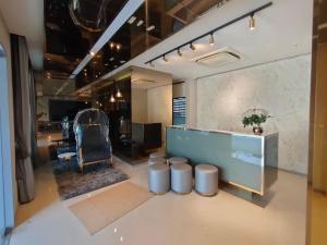 For RentTownhouseBangna, Lasalle, Bearing : Home office for rent !!! Brand new townhome Pleno Sukhumvit Bangna (Bangna Km.7) Close to Mega Bangna
