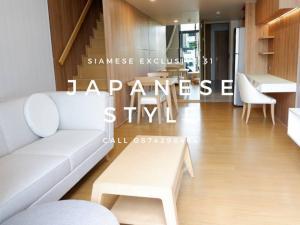 For RentCondoSukhumvit, Asoke, Thonglor : For rent one bedroom Duplex unit just 45K