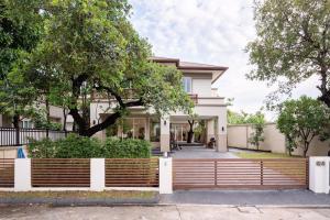 For SaleHouseBangna, Lasalle, Bearing : House for sale Nusasiri Sukhumvit 103 Project, area 162.5 sq m.