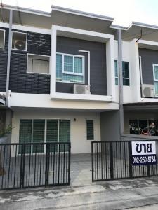 For RentHousePattaya, Bangsaen, Chonburi : Townhome for rent, Arinsiri Village @ Sukhumvit Near Nong Mon Market, Burapha University, Bang Saen Beach