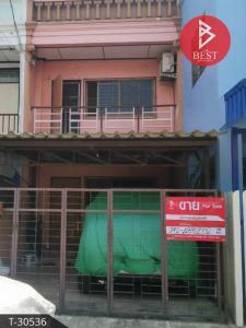 For SaleTownhouseSamrong, Samut Prakan : 2 storey townhouse for sale, Chat Phet Village Namdaeng - Bangplee, Samut Prakan