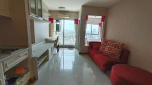 For SaleCondoRathburana, Suksawat : Condo for sale by the river. There is a private Ivy River pier, 1 bedroom, 36 sq m, corner unit, 24th floor, price only 2.15 million only.