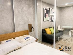 ขายคอนโดรัชดา ห้วยขวาง : ขาย Ivy Ratchada  1ห้องนอน ขนาด 31 ตร.ม. ใกล้ MRT สุทธิสาร