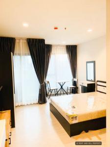 For RentCondoRama9, RCA, Petchaburi : For Rent Life Asoke-Rama 9   Studio , size 26 sq.m., Beautiful room, fully furnished.