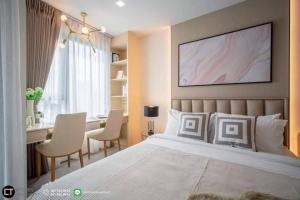 For RentCondoLadprao, Central Ladprao : Condo for rent, Life Ladprao, very beautiful room, opposite Central Ladprao / 🚆 BTS station next to the project