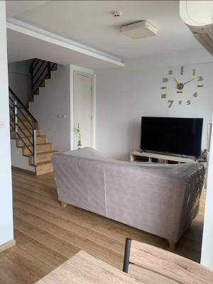 For RentCondoRama9, Petchburi, RCA : For rent (JRY Rama 9) Duplex 2 bedrooms, 2 bathrooms, beautiful room, 2 bedrooms, 2 bathrooms, 68 sqm.