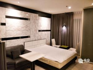 For RentCondoRama9, Petchburi, RCA : For Rent Rhythm Asoke  Studio , size 23 sq.m., Beautiful room, fully furnished.