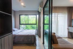 For RentCondoBangna, Lasalle, Bearing : 🍀 For Rent - Condo Villa Lasalle, BTS Bearing, Sukhumvit 105.