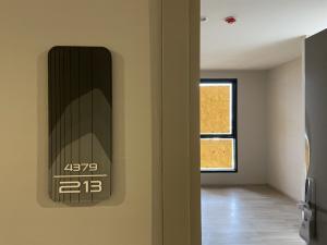 For SaleCondoBangna, Lasalle, Bearing : โครงการ ideo mobi sukhumvit east point ห้องสตูดิโอขนาด 26 ตารางเมตรถ่ายจากห้องจริง