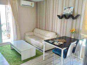 For SaleCondoKasetsart, Ratchayothin : Urgent sale, The Key Phaholyothin 34, balcony facing the view in the garden view project, swimming pool, private room. The room in the north, the light passes through, clear and comfortable. No noise, the room is ready. Decorated with good furniture