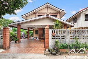For SaleHouseBangbuathong, Sainoi : 2-storey detached house, Bang Bua Thong Village, Bang Kruai-Sai Noi Rd.