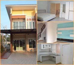 For SaleTownhouseChiang Mai : 📌 Sell / rent townhome / 2-storey townhouse near the 3rd ring, San Sai, Chiang Mai.