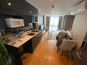For SaleCondoSiam Paragon ,Chulalongkorn,Samyan : Condo for sale Samyan-Chula Altitude Define (Altitude Define) 1 bed 32.26 sq m, price 5.129 million, 2nd floor, the last room, fluffer, complete the best in Sam Yan.