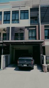 เช่าทาวน์เฮ้าส์/ทาวน์โฮมเอกชัย บางบอน : BH907 ให้เช่าทาวน์โฮม3ชั้น 3ห้องนอน 3ห้องน้ำ   หมู่บ้าน ซิกเนเจอร์ เอกชัย บางบอน