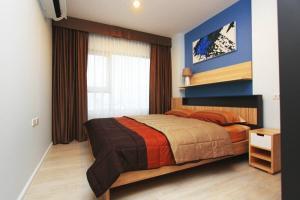 เช่าคอนโดท่าพระ ตลาดพลู : for rent Aspire thapra 1 bed เเต่งสวยชั้นสูง วิวเเม่น้ำ
