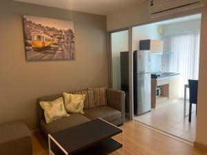 For RentCondoBang kae, Phetkasem : Condo for rent, The Niche ID Bangkae Phase 1, fully furnished, Air 2 size 30.5 sq m.
