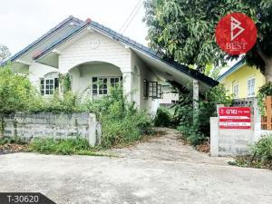 For SaleHouseNakhon Nayok : Single storey house for sale. Suan Saen Village Ongkharak District Nakhon Nayok Province