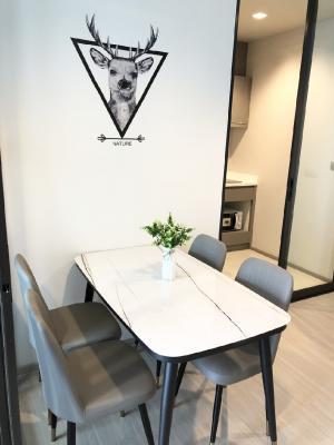 For RentCondoRama9, RCA, Petchaburi : For rent: Life Asoke Rama9, new room, 35 sqm, price 14000 baht only.