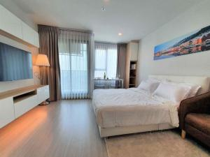 For RentCondoLadprao, Central Ladprao : For rent, Life Ladprao, corner room, decorated, beautiful, cheap