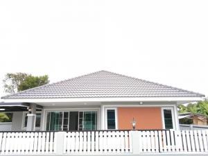 ขายบ้านเชียงใหม่ : ขายบ้านสร้างใหม่ ต้นเหว ยางเนิ้ง อ.สารภี พื้นที่เยอะๆ