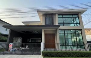 For SaleHouseRathburana, Suksawat : Code C4017 2 storey detached house for sale, Village Center Suksawat Rama 3, the house has never been in.